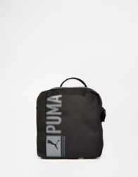 Puma Fundamentals Flight Bag In Black 7347201 Black