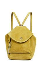 Manu Atelier Mini Fernweh Convertible Backpack Yellow