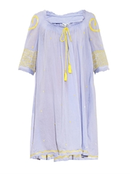 Thierry Colson Eva Embroidered Cotton Dress