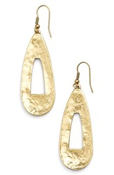 Women's Karine Sultan Open Teardrop Earrings