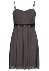 Esprit Collection Occasion Cocktail Dress Party Dress Dark Nougat Brown