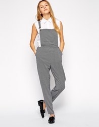 Sugarhill Boutique Kara Overalls Blackwhite