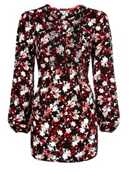 Dash Winter Floral Tunic Multi Coloured