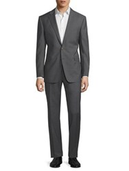 Polo Ralph Lauren Connery 2B Wool Suit Grey
