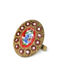 Dsquared2 Rings Golden Mosaic Ring