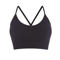 Pepper And Mayne Seamless Compression Bralette Black