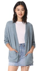 Wildfox Couture Snake Charmer Nightwish Cardigan Flecked Vision Blue