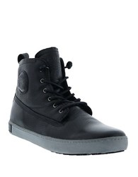 Blackstone Lace Up High Top Sneakers Nero