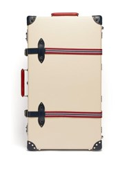 Globe Trotter St. Moritz 30 Check In Suitcase Ivory Multi