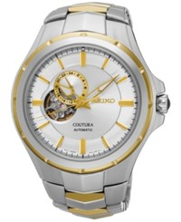 Seiko Men's Automatic Coutura Two Tone Stainless Steel Bracelet Watch 43Mm Ssa314 Two Tone