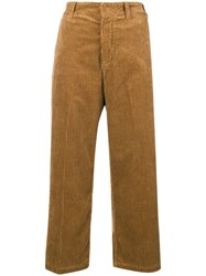 Department 5 Flared Corduroy Trousers Nude And Neutrals