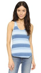 Joe's Jeans Joni Tank Faded Indigo Stripe