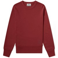 Acne Studios Fayze Crew Sweat Red