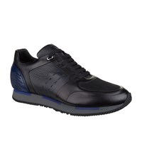 Stefano Ricci Olympia Eagle Wing Sneakers Black