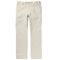 Alfred Dunhill Finsbury Cotton Chinos Gray