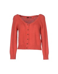.Tessa Knitwear Cardigans Women Brick Red