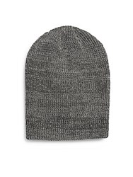 Penguin Santino Slouchy Beanie Charcoal