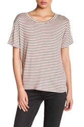 Candc California Kyra Relaxed Crew Tee Beige