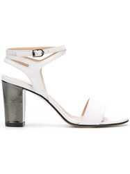 Marc Ellis Open Toe Heeled Sandals White