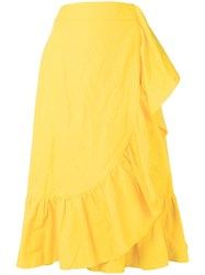 La Doublej Jazzy Skirt Yellow