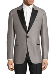 Armani Collezioni G Line Dinner Jacket Striped
