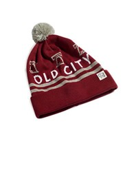 Tuck Shop Co. Old City Knit Beanie Burgundy