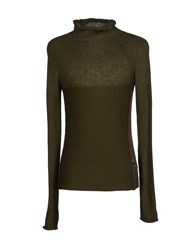 Cnc Costume National C'n'c' Costume National Knitwear Turtlenecks Men Military Green