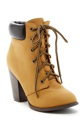 Top Guy Demo 5 High Heel Bootie Beige