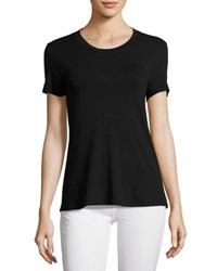 1.State Short Sleeve Tee W Cutout Back Black