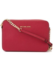 Michael Michael Kors Camera Crossbody Bag Pink Purple