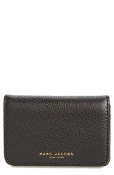 Marc Jacobs Women's Recruit Leather Business Card Case