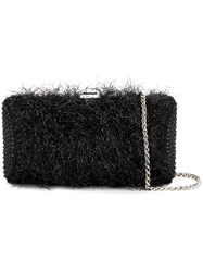 Rodo Textured Evening Clutch Black