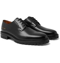 Common Projects Leather Derby Shoes Black
