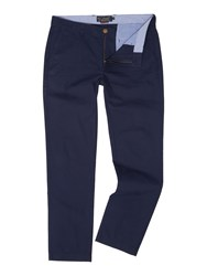 Howick Men's Slim Fit Fraternity Casual Chino Navy