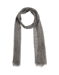 Eleventy Accessories Oblong Scarves Women Grey
