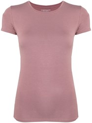 Majestic Filatures Alison T Shirt Pink And Purple