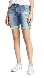 Ag Jeans The Nikki Shorts 16 Years Indigo Deluge