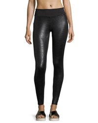 Soybu Hayden Shiny Sport Leggings Black