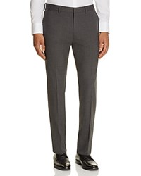 Theory Marlo Stretch Wool Slim Fit Trousers Medium Charcoal