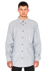 Billionaire Boys Club Mantra Button Down Blue