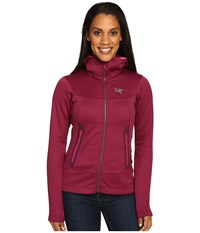 Arc'teryx Arenite Hoodie Light Chandra Women's Sweatshirt Red