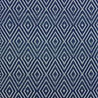 Dash And Albert Diamond Rug Navy Ivory 122X183cm