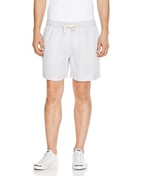 Surfside Supply Cabana Shorts Pale Blue High Rise