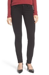 Kut From The Kloth Petite Women's 'Diana' Ponte Knit Five Pocket Skinny Pants Black