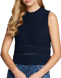 Jessica Simpson Alexia Sleeveless Top Dress Blue