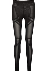 Maison Martin Margiela Stretch Jersey Leggings Black