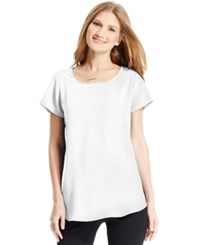 Alfani Short Sleeve High Low Top Only At Macy's