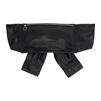 Kara Black Shirt Waist Bag