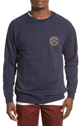 Men's Brixton 'Soto' Graphic Raglan Crewneck Sweatshirt