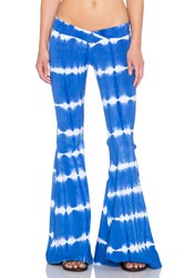 Indah Promise Bell Bottom Pant Blue